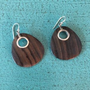 Silpada teardrop shadow earrings